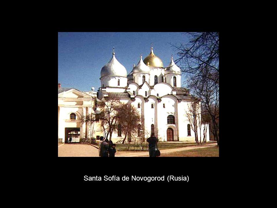 Santa Sofía de Novogorod (Rusia)