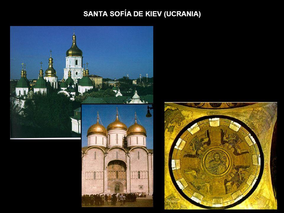 SANTA SOFÍA DE KIEV (UCRANIA)