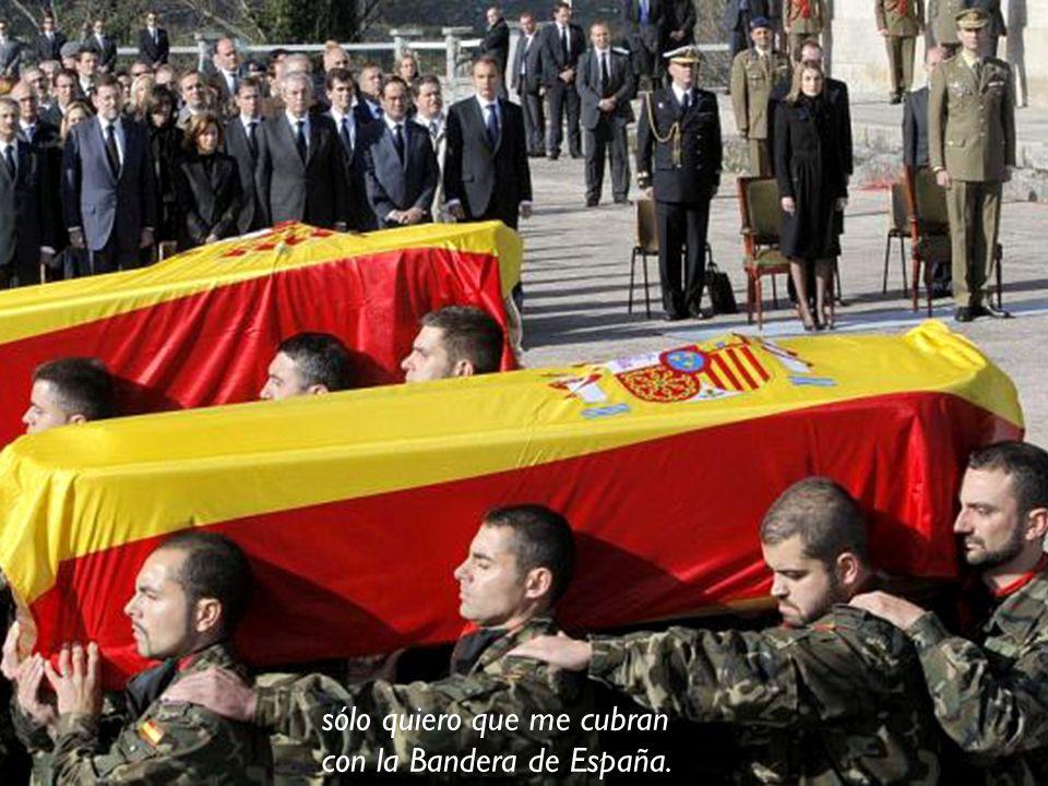 El día que yo me muera si estoy lejos de mi Patria