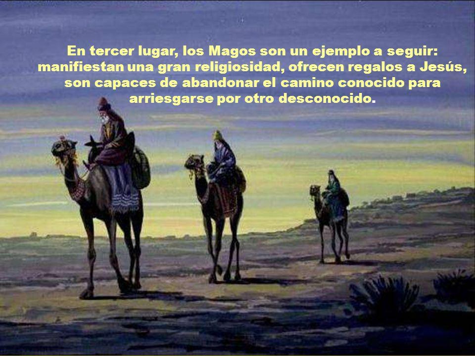 En segundo lugar, los Magos entran en el itinerario de Jesús. A los Magos se les ha considerado como Primitiae Gentium: como primicias de los paganos.