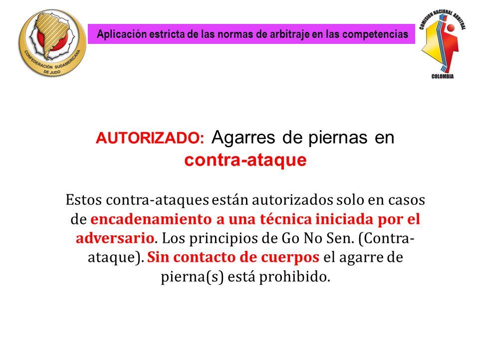 Aplicacion estricta de las normas de arbitraje en las competencias Aplicación estricta de las normas de arbitraje en las competencias