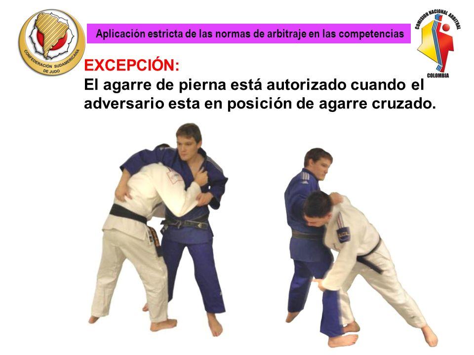 Lo mismo que para las otras técnicas como Uchi Mata Aplicación estricta de las normas de arbitraje en las competencias