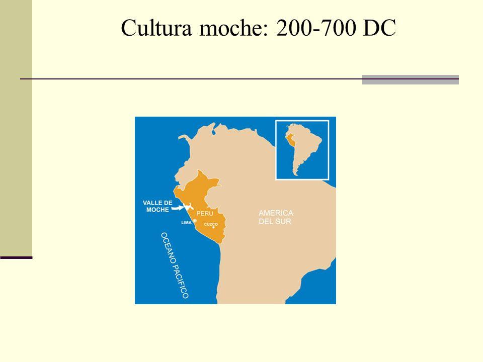 Cultura moche: 200-700 DC