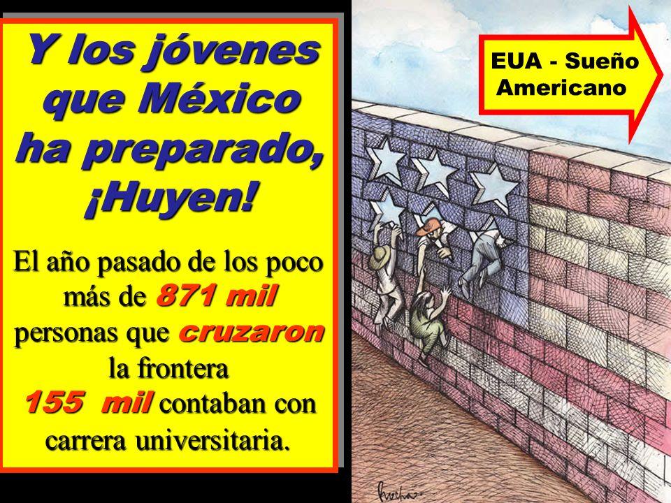 desempleo aumentado El desempleo en México ha aumentado en un 8% en solo 10 años.
