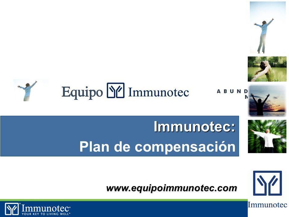33 www.equipoimmunotec.com Immunotec: Plan de compensación