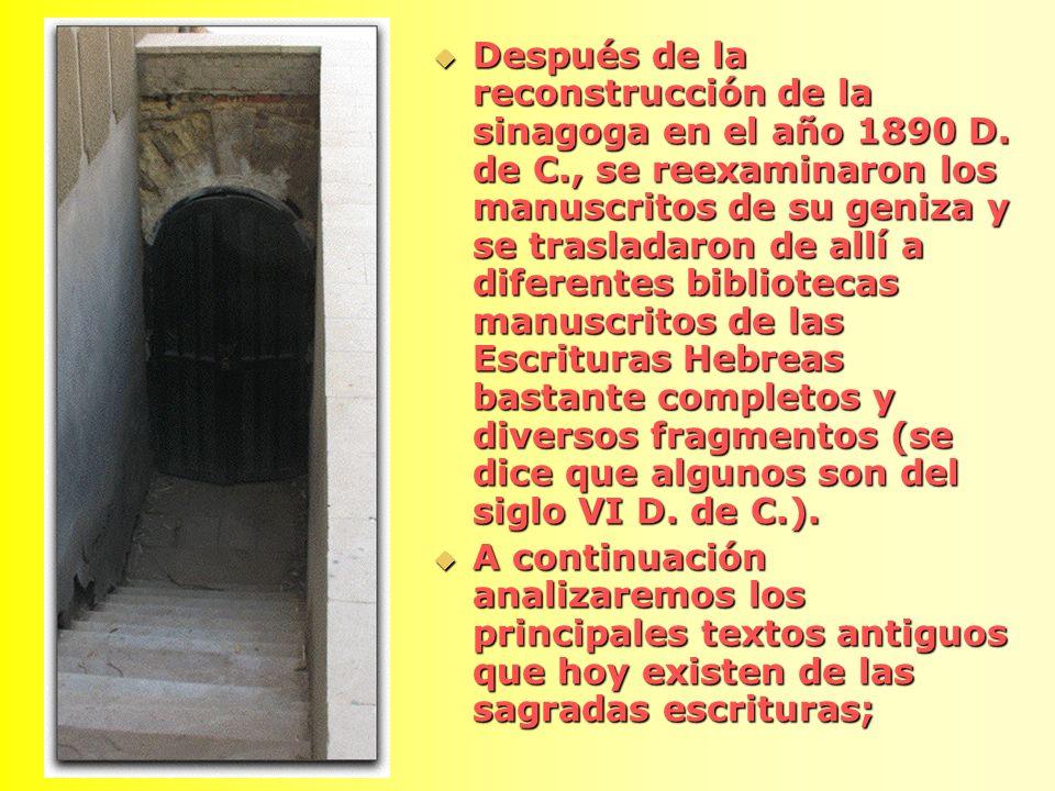 PAPIRO DE NASH PAPIRO DE NASH Es uno de los fragmentos más antiguos que contiene pasajes bíblicos, luego de que fue hallado en Egipto, actualmente se encuentra en Cambridge (Inglaterra).