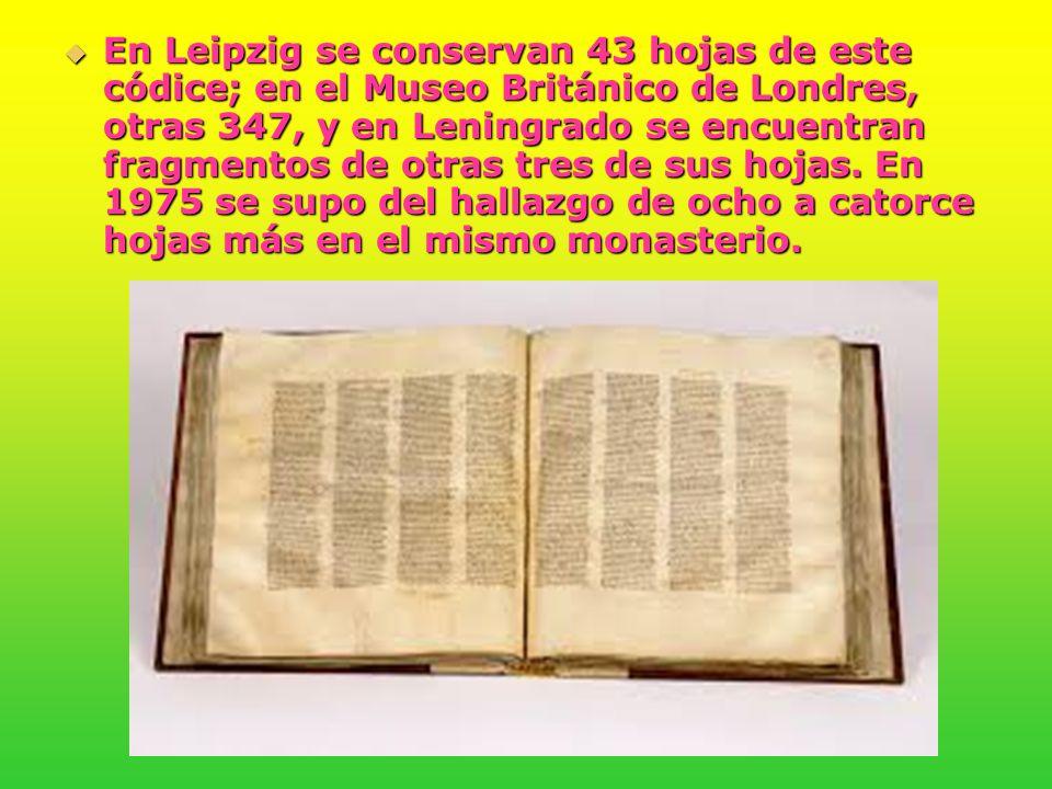 El Manuscrito Alejandrino.
