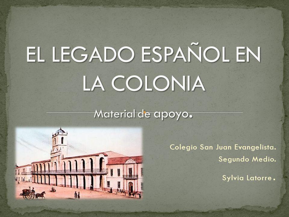 Colegio San Juan Evangelista. Segundo Medio. Sylvia Latorre.