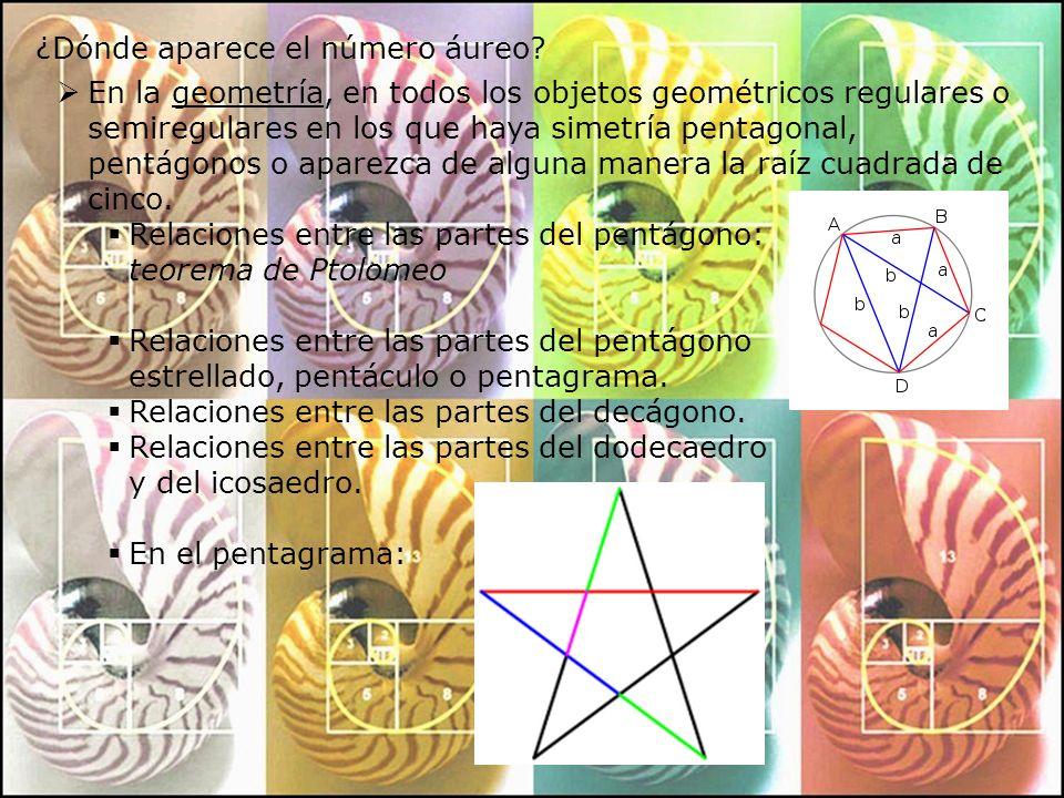 En la naturaleza: Existen cristales de Pirita dodecaédricos pentagonales cuyas caras son pentágonos perfectos.