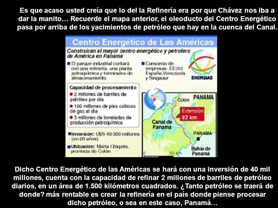 Dicho Centro Energético de las Américas se hará con una inversión de 40 mil millones, cuenta con la capacidad de refinar 2 millones de barriles de pet