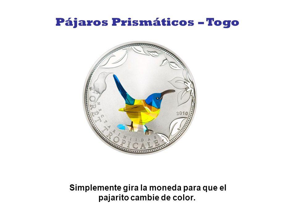 Hermosa moneda con el mismo principio de las anteriores y con pingüinos jugando en su borde. Pingüinos – South Georgia