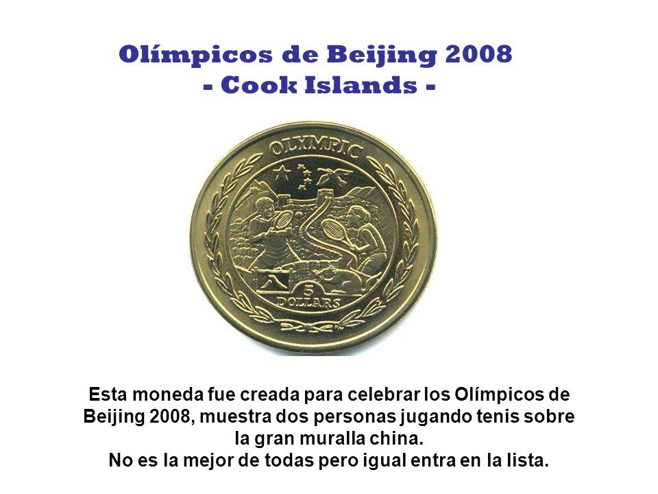 No tengo mucha información sobre esta moneda, pero es atractiva. Flor de Pensamiento - Cook Islands -
