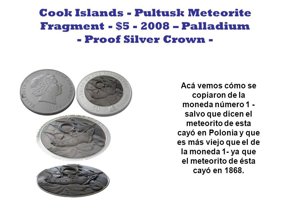 Está compuesto por 2 monedas, una adentro de la otra, en la de adentro está Vespucio y en la otra (la exterior) el nuevo mapa americano, descubierto por Américo Vespucio y dibujado por el alemán Waldseemuller.