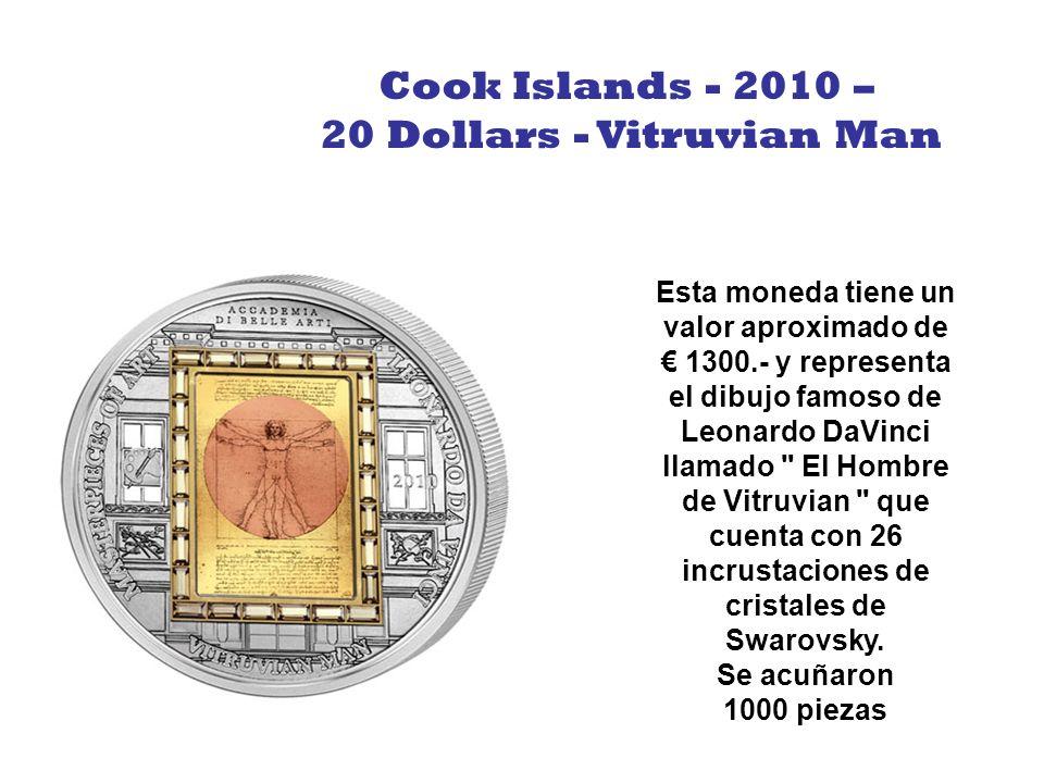 En esta ocasión nos encontramos con una moneda referida a una de las 7 maravillas: Las pirámides de Egipto. Contiene en su interior arena