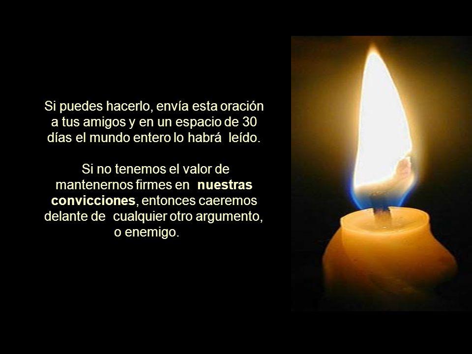 Con la ayuda de Dios, quisiéramos que esta oración se derrame sobre la nación, y que nazca en nuestros corazones el deseo de llegar a ser una Argentina bajo la mirada de Dios ..