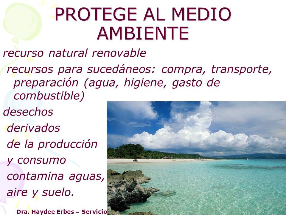 Dra. Haydee Erbes – Servicio Neonatología – Iniciativa Hospital Amigo San Luis PROTEGE AL MEDIO AMBIENTE recurso natural renovable recursos para suced