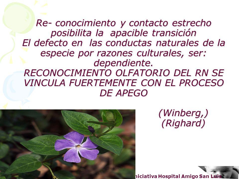 Dra. Haydee Erbes – Servicio Neonatología – Iniciativa Hospital Amigo San Luis Re- conocimiento y contacto estrecho posibilita la apacible transición