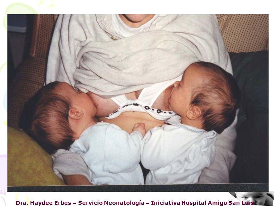 Dra. Haydee Erbes – Servicio Neonatología – Iniciativa Hospital Amigo San Luis