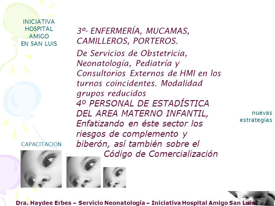 Dra. Haydee Erbes – Servicio Neonatología – Iniciativa Hospital Amigo San Luis INICIATIVA HOSPITAL AMIGO EN SAN LUIS nuevas estrategias CAPACITACION 3