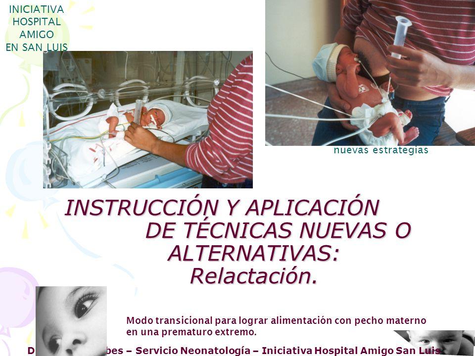Dra. Haydee Erbes – Servicio Neonatología – Iniciativa Hospital Amigo San Luis INICIATIVA HOSPITAL AMIGO EN SAN LUIS nuevas estrategias Modo transicio