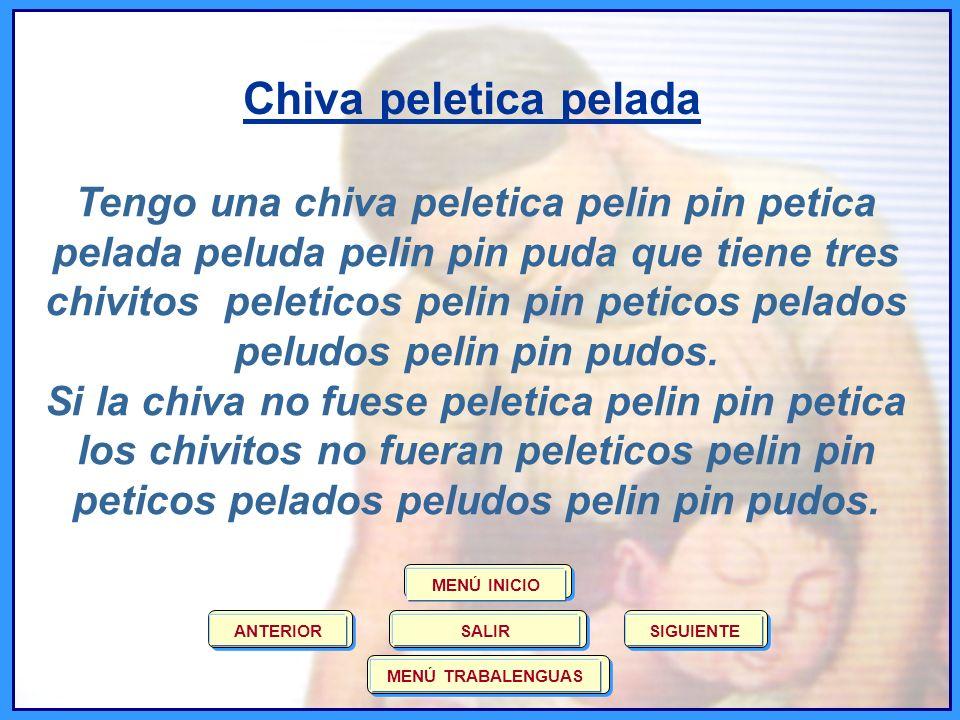 Gallina Pinta Pipiripinta Tengo una gallina pinta pipiripinta gorda pipirigorda pipiripintiva y sorda que tiene tres pollitos pintos pipiripintos gordos pipirigordos pipiripintivos y sordos.