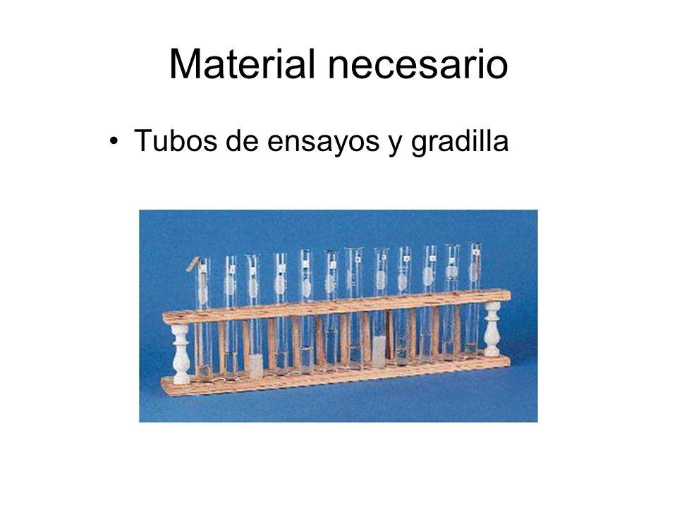 Material necesario Embudo