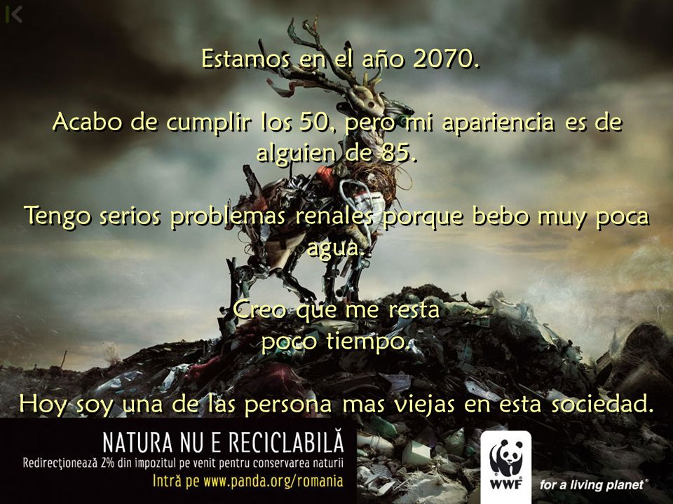 CARTA ESCRITA EN EL AÑO 2070 Documento publicado en la revista Crónica de los Tiempos Abril de 2002