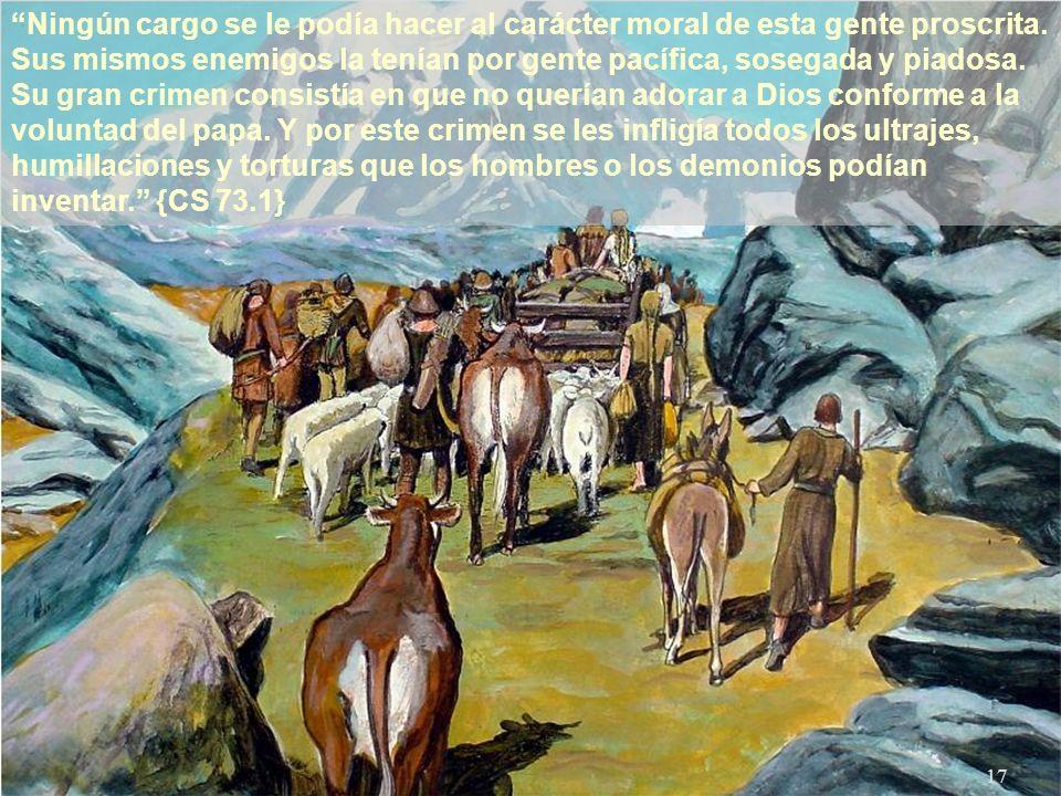 16 Una y otra vez fueron asolados sus feraces campos, destruidas sus habitaciones y sus capillas, de modo que de lo que había sido campos florecientes