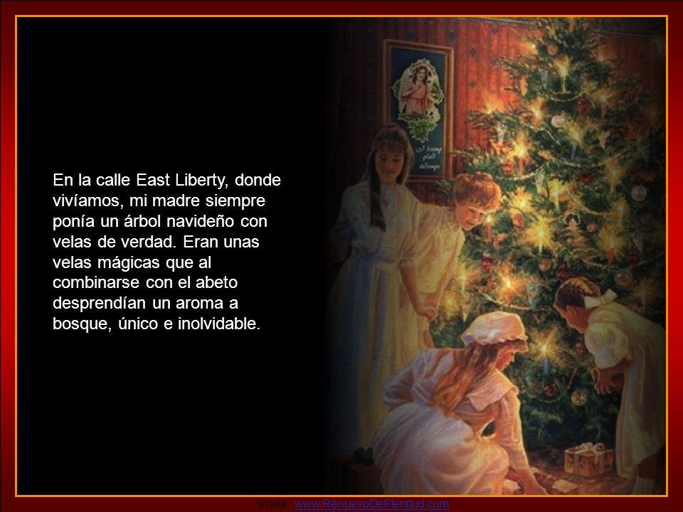 Algunos de mis años más tiernos los pasé en Cincinnati. Todavía recuerdo el enorme árbol navideño de la Plaza de la Fuente, los brillantes decorados,
