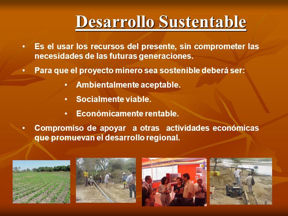 Desarrollo Sustentable Es el usar los recursos del presente, sin comprometer las necesidades de las futuras generaciones.