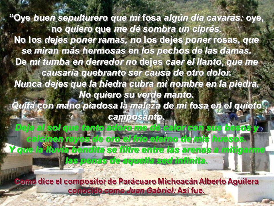 Silvestre Ursúa pidió que cuando muriera, en su tumba escribieran uno de sus poemas, en junio del año de 1964, cuando sus compañeros maestros, sus alu