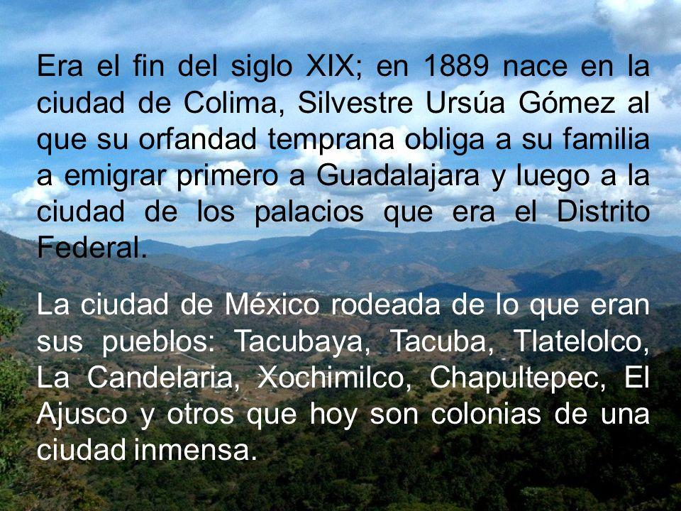 México vivía el apogeo de la dictadura porfirista con sus clases sociales y económicas perfectamente definidas. Las haciendas con sus ricos terratenie