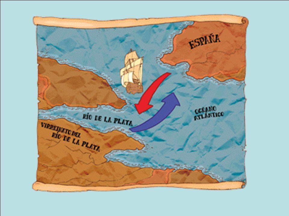 El Virreinato del Río de la Plata abarcaba un enorme territorio.
