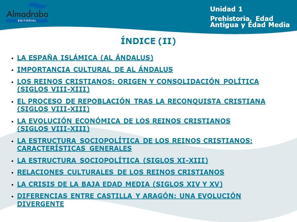 LA ESTRUCTURA SOCIOPOLÍTICA (SIGLOS XI-XIII) Unidad 1 Prehistoria, Edad Antigua y Edad Media
