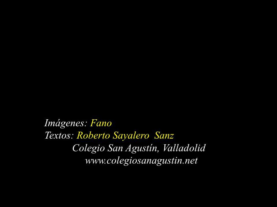 Imágenes: Fano Textos: Roberto Sayalero Sanz Colegio San Agustín, Valladolid www.colegiosanagustin.net