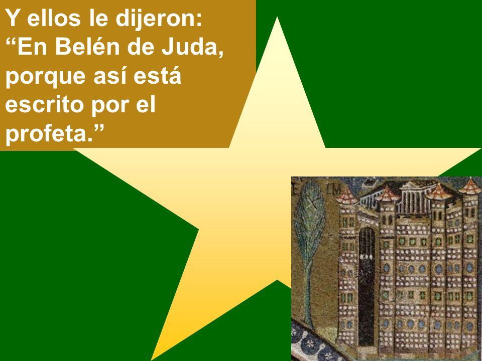 El rey Herodes preguntó a los sacerdotes y escribas dónde habría de nacer el Cristo.