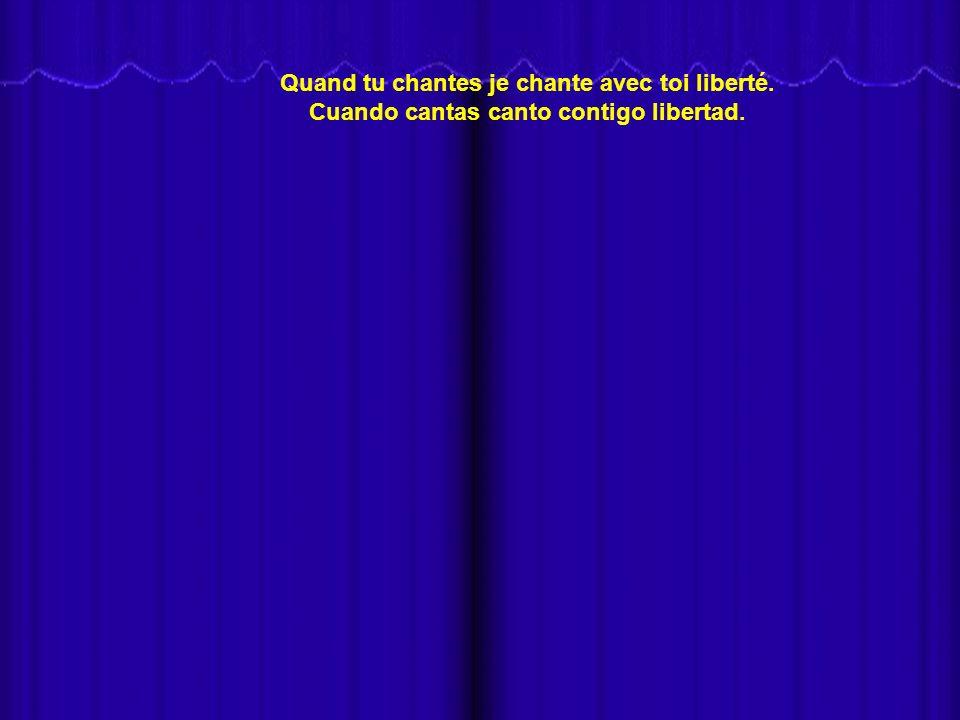 - Van a escuchar a NANA MOUSKOURI en la conocida canción VA PENSIERO de la ópera NABUCCO de Guiseppe Verdi, en la versión francesa JE CHANTE AVEC TOI