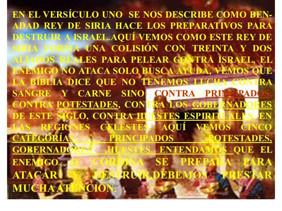 EL CAPITULO 20 DEL LIBRO 1. DE REYES OCULTA UN CODIGO SECRETO,EL ÉXITO PARA OBTENER UNA VIDA EN VICTORIA,EL SECRETO DE CÓMO APRENDEMOS A SUJETARNOS A