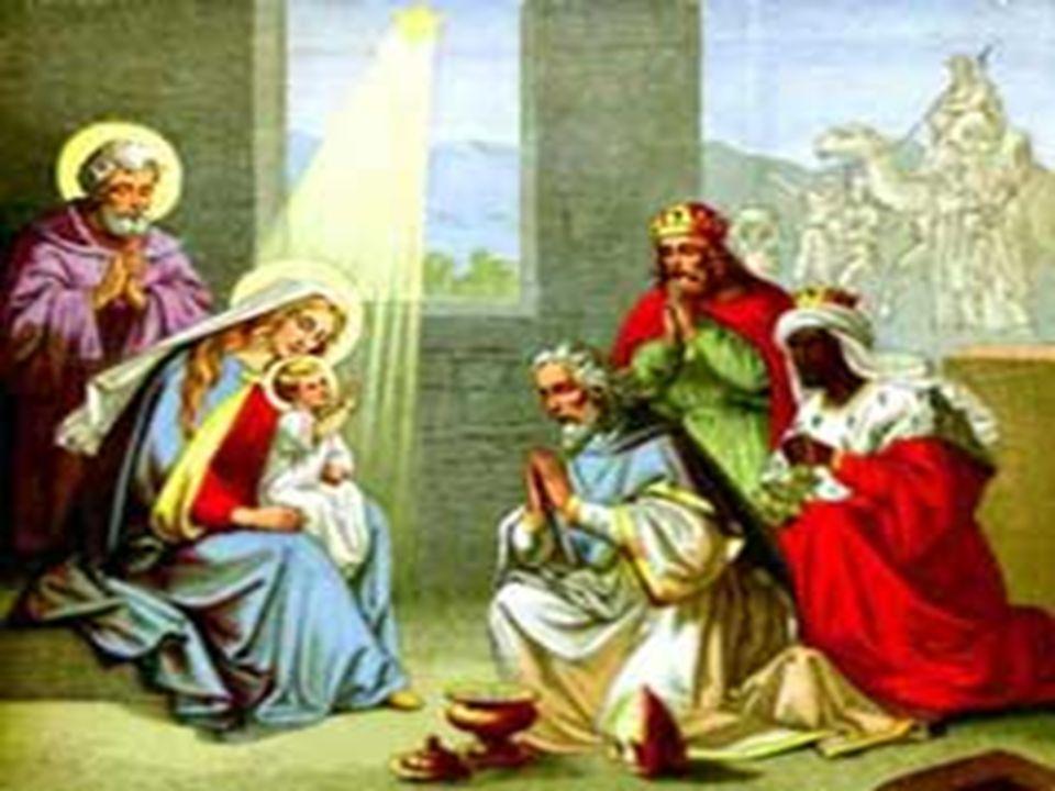 Y ofrecieron a Jesús: oro como a REY, incienso como a DIOS, y mirra como a HOMBRE mortal ¿Qué le ofrecemos.