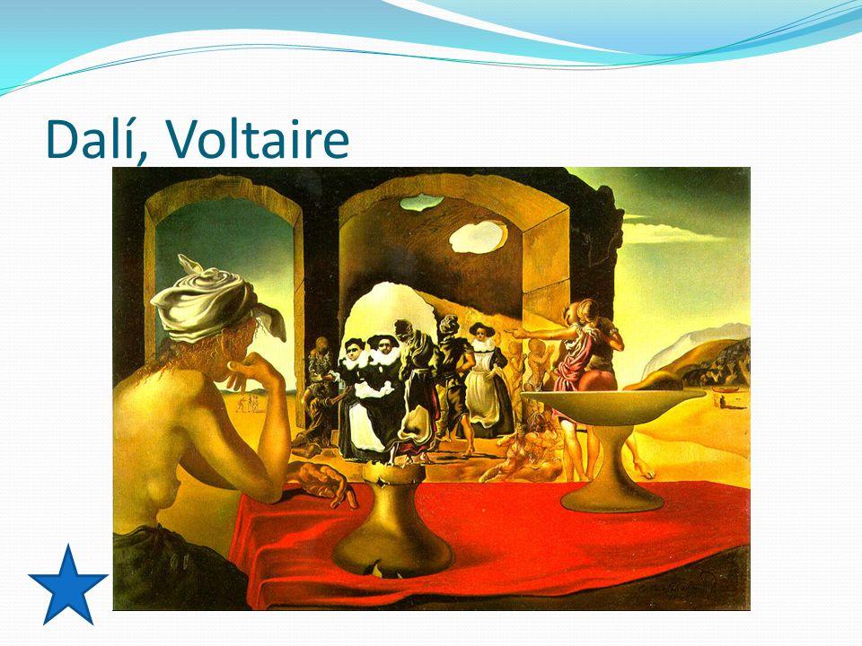 Dalí, Voltaire