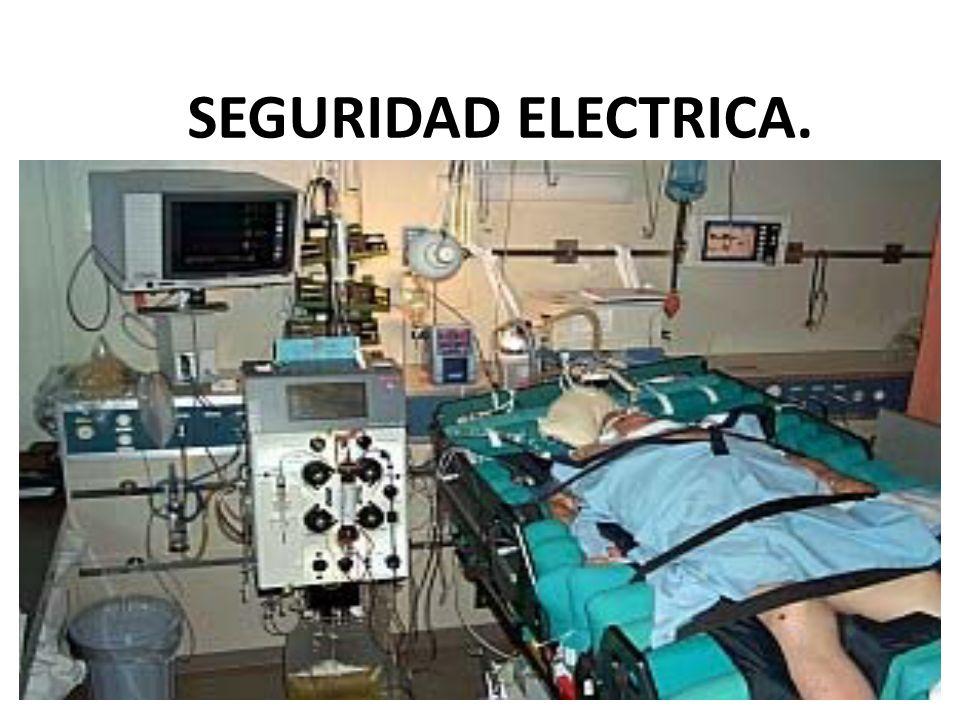 SEGURIDAD ELECTRICA.