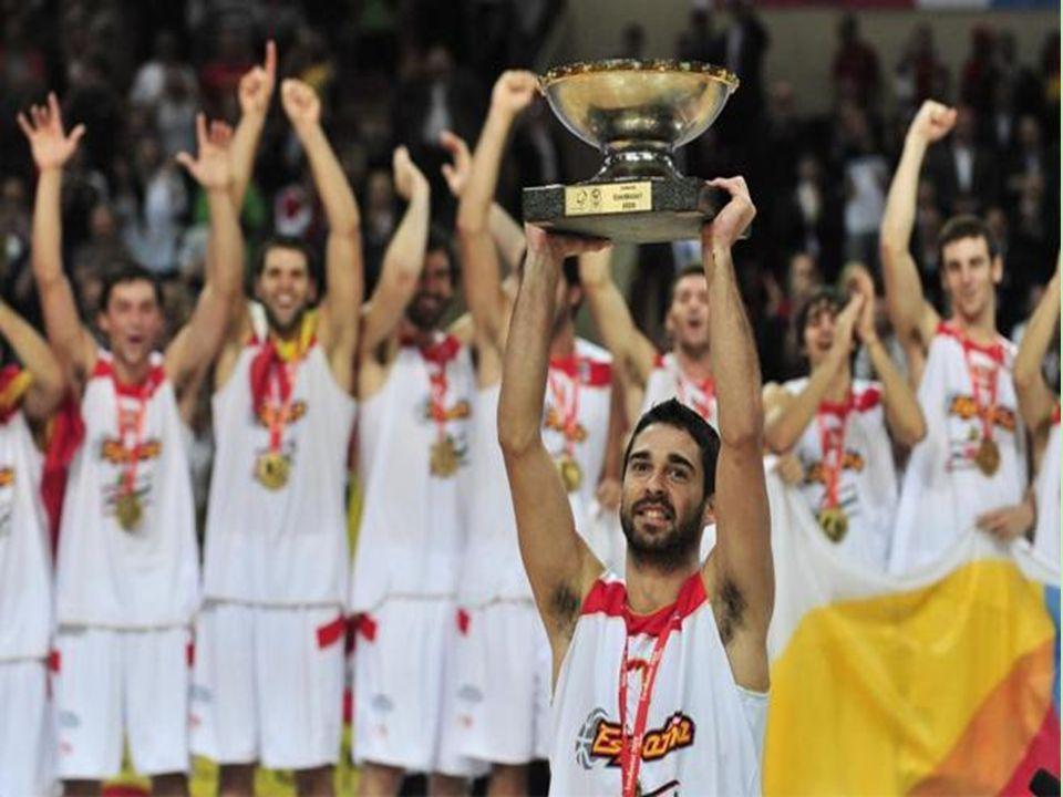 Tras jugar contra Francia, Grecia y finalmente Serbia, España consiguió ganar el Eurobasket 2009
