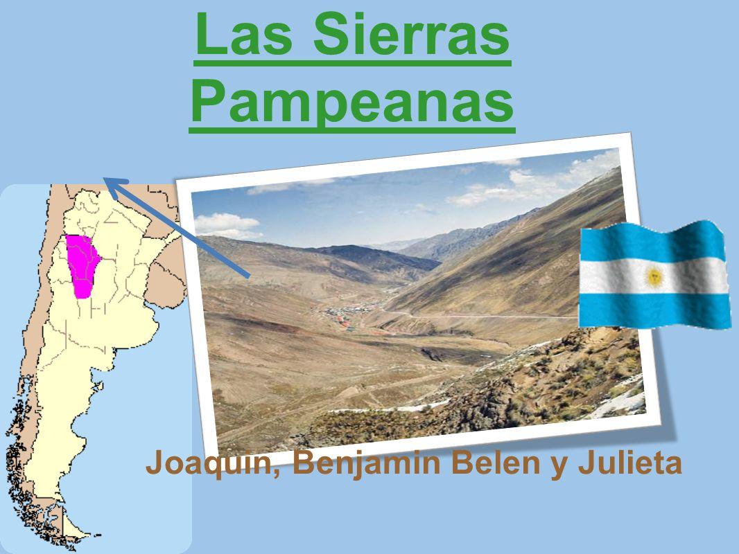 Las Sierras Pampeanas Joaquin, Benjamin Belen y Julieta