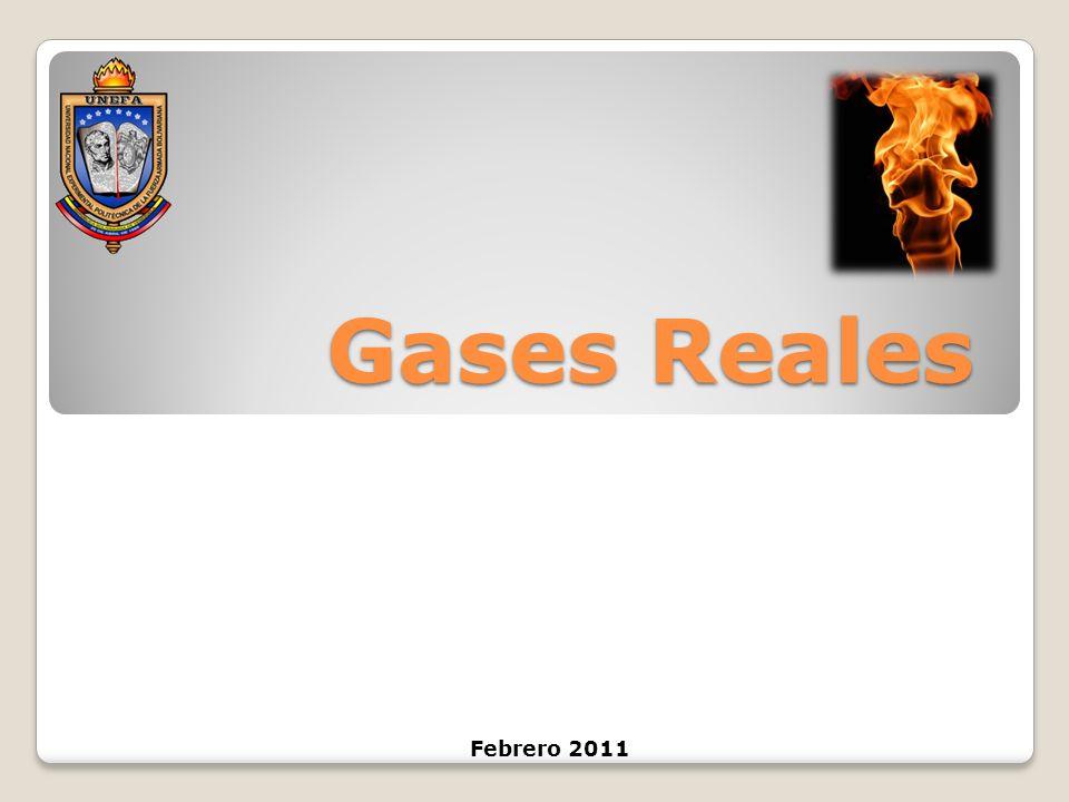 Gases Reales Febrero 2011