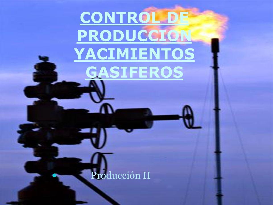 CONTROL DE PRODUCCION YACIMIENTOS GASIFEROS Producción II