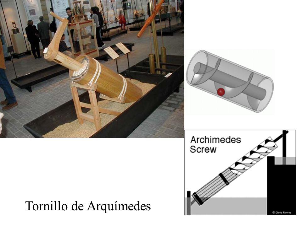 Herón de Alejandría (c. 100 d.C) el aire es materia. Máquina de vapor de Herón