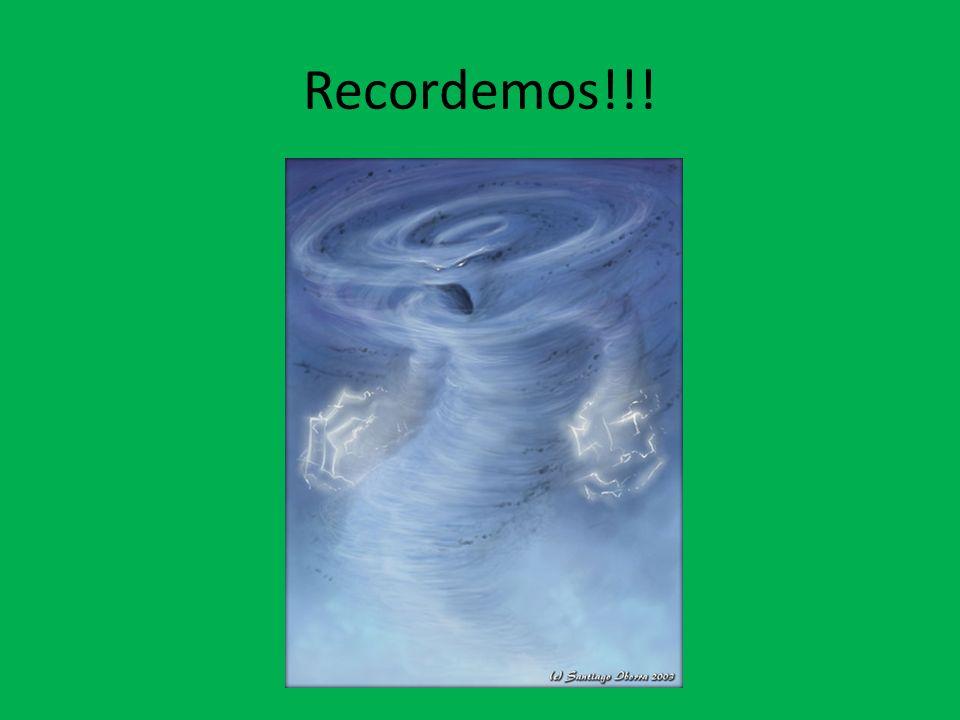 Recordemos!!!