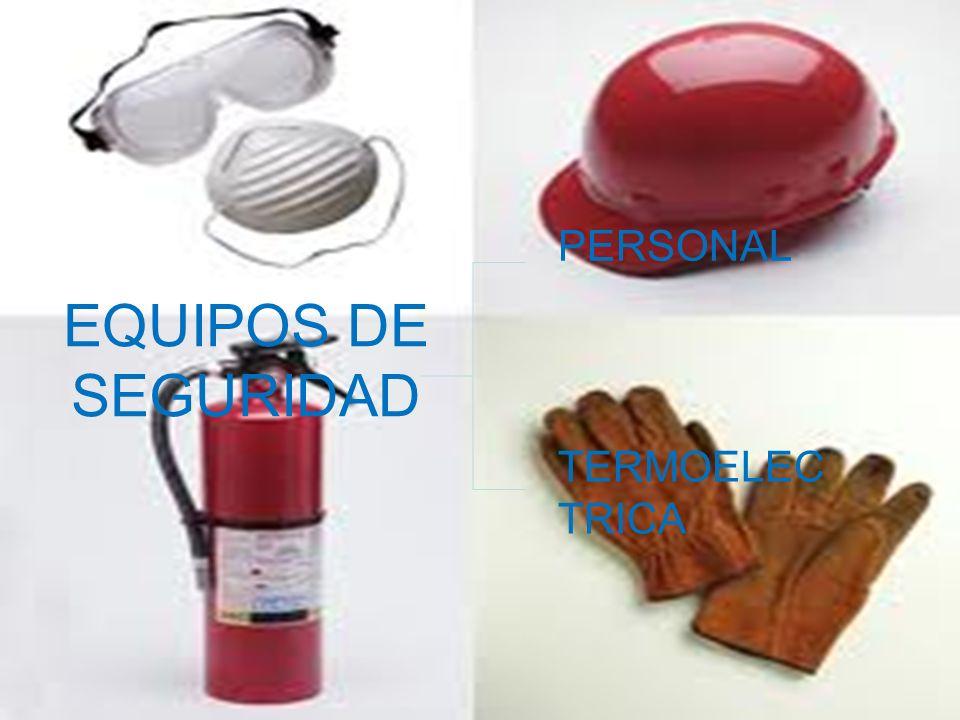 EQUIPOS DE SEGURIDAD PERSONAL TERMOELEC TRICA