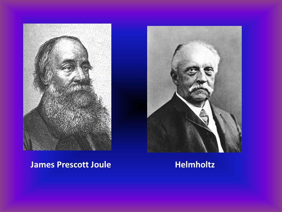 James Prescott JouleHelmholtz
