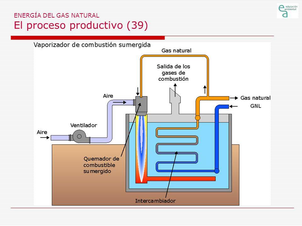 ENERGÍA DEL GAS NATURAL El proceso productivo (39)